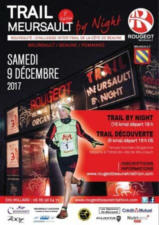 Trail Meursault by night